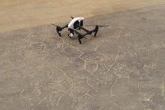 Quadrocopter Inspiruje 1 przed start zdjęcia stock