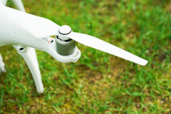 Quadrocopter propeller Stock Photo