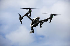 Quadrocopter surr Royaltyfri Bild