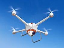 Quadrocopter z kamerą Fotografia Stock