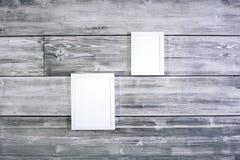 Quadros brancos vazios Imagem de Stock