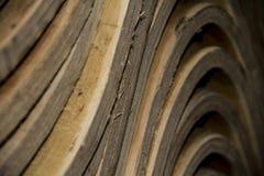 Quadros da cadeira da madeira compensada Foto de Stock Royalty Free