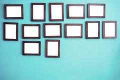 Quadros da foto na parede Foto de Stock