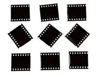 Quadros da foto para a colagem da colocação Imagens de Stock Royalty Free