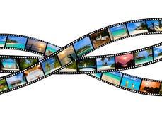 Quadros da película - natureza e curso (minhas fotos) Fotografia de Stock Royalty Free