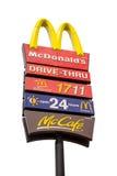 Quadros de avisos grandes de McDonalds Imagens de Stock