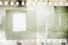 Quadros de filme Imagem de Stock