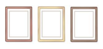 Quadros de madeira Fotos de Stock