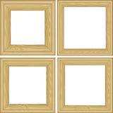 Quadros de madeira Imagens de Stock