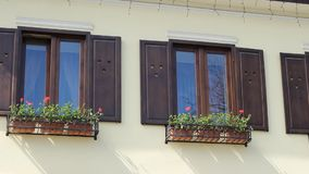 Quadros de madeira de Windows filme