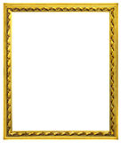 Quadros de madeira dourados Imagens de Stock Royalty Free