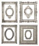 Quadros de prata Imagem de Stock