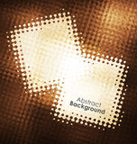 Quadros do vetor do Grunge do ouro Fundo do Grunge Elementos do projeto Fundo da textura Fôrma abstrata Fotografia de Stock