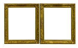 Quadros dourados antigos Foto de Stock