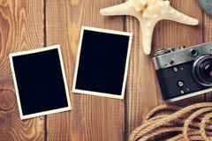 Quadros e artigos do curso e da foto das férias Fotografia de Stock Royalty Free