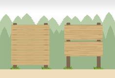 Quadros indicadores de madeira Foto de Stock Royalty Free