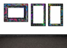 Quadros na parede Fotos de Stock Royalty Free