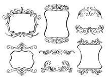 Quadros ornamentado elegantes Foto de Stock Royalty Free