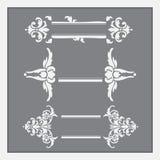 Quadros para a decoração do texto Imagens de Stock Royalty Free