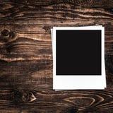 Quadros vazios da foto e espaço livre no lado esquerdo Fotografia de Stock