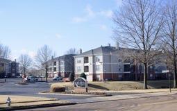 Quaglia Ridge Apartment Homes, Bartlett, TN immagine stock