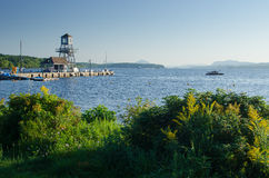 Free Quai At Magog, Quebec Stock Photo - 59004290