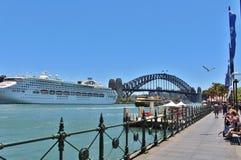 quai circulaire Sydney de l'australie Photographie stock libre de droits