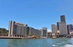 quai circulaire Sydney de l'australie Photographie stock