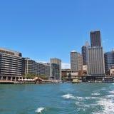 quai circulaire Sydney de l'australie Image libre de droits