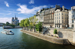 Quai d'Orleans. Stock Photos