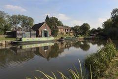Quai de Dapdune, Guildford photos libres de droits