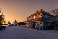 Quai de Gravenhurst Photographie stock libre de droits