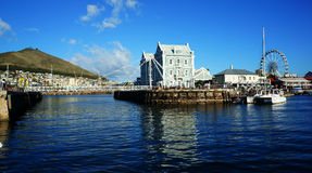 Quai de l'Afrique du Sud Cape Town Image libre de droits