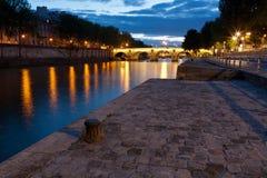 Quai de Paris Imagens de Stock