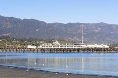 Quai de Stearns en Santa Barbara image libre de droits