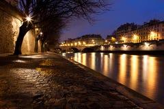 Quai DES Orfevres, Paris Lizenzfreie Stockfotografie