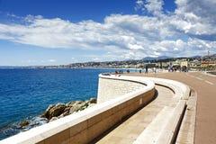 Quai Rauba Capeu, Nice, France Royalty Free Stock Image