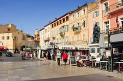 Quai Suffren in Saint-Tropez, France Royalty Free Stock Images