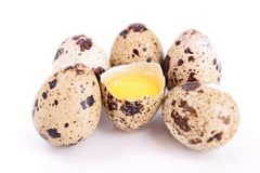 Quail egg Royalty Free Stock Photos