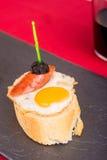 Quail egg tapa Stock Image