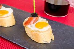 Quail egg tapa Royalty Free Stock Photo