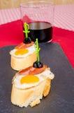 Quail egg tapa Royalty Free Stock Photos