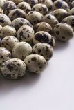 Quail Eggs Background Stock Images