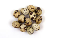Quail eggs Royalty Free Stock Image