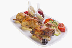 Quail GRILL Stock Image