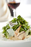 Quail Wings Salad Stock Images