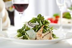 Quail Wings Salad Stock Image