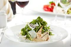 Quail Wings Salad Stock Photos