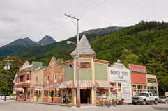 Quaint And Unique Architecture In Skagway Royalty Free Stock Photography