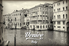 Quaint canal in historic Venice Royalty Free Stock Images